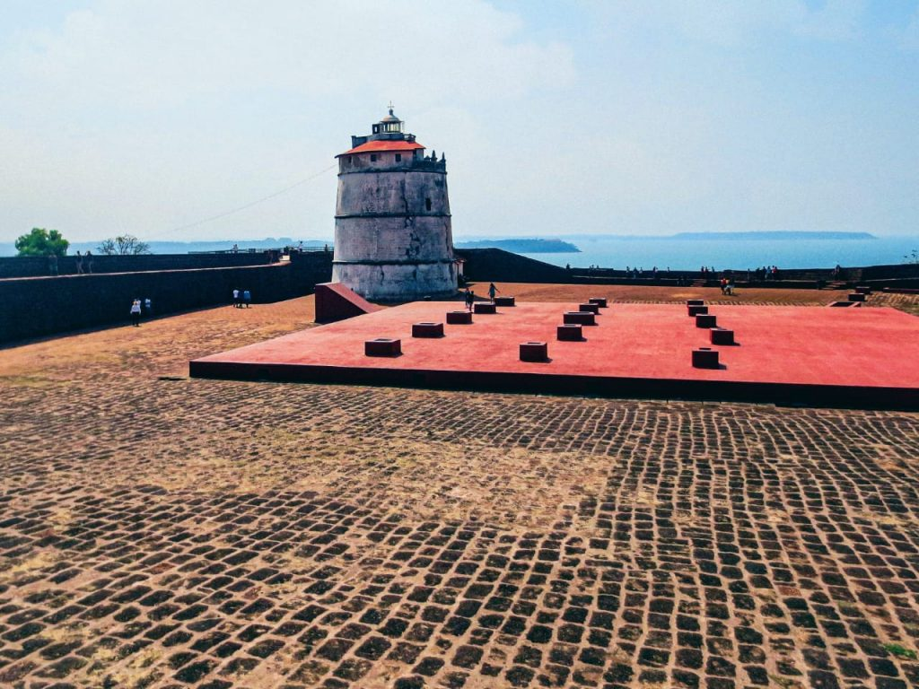 Goa-Chapora-Fort: Best Places to Visit in Goa