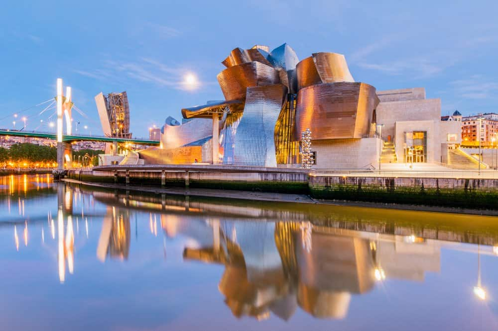 Guggenheim – Bilbao-Spain-Why to Visit Spain:  Spanish Food & Must-See Places