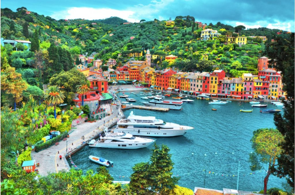Portofino- Celeb's Luxury Vacation Point in Italy