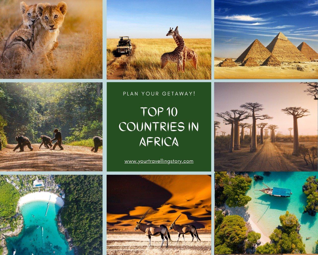 Best Places to Visit in Africa: 10 Tourist Destinations, Safari