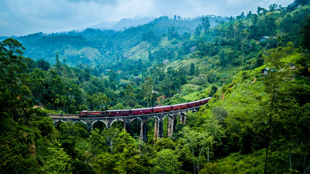 Kandy-to-Ella-Train-Route-Sri-Lanka-TourismPlaces to Visit in Sri Lanka: Tourism