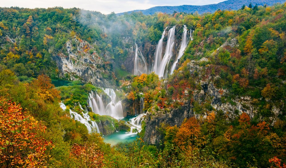 Plitvice Lakes National Park- Croatia: best national parks in the world