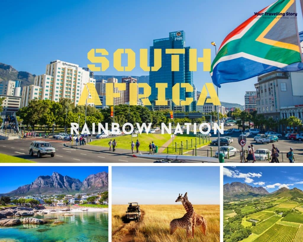 South Africa (one of the Best Places to Visit in Africa for Safari, mountains and many more)