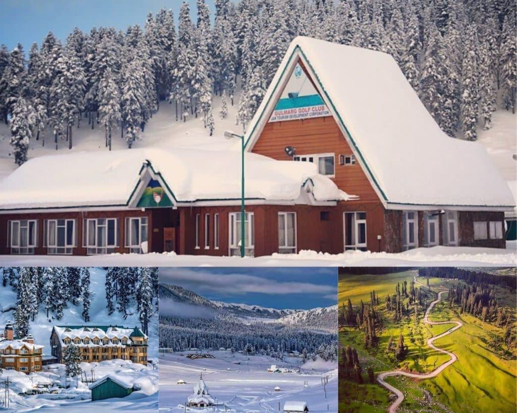 Gulmarg Hill Station Jammu & Kashmir, India