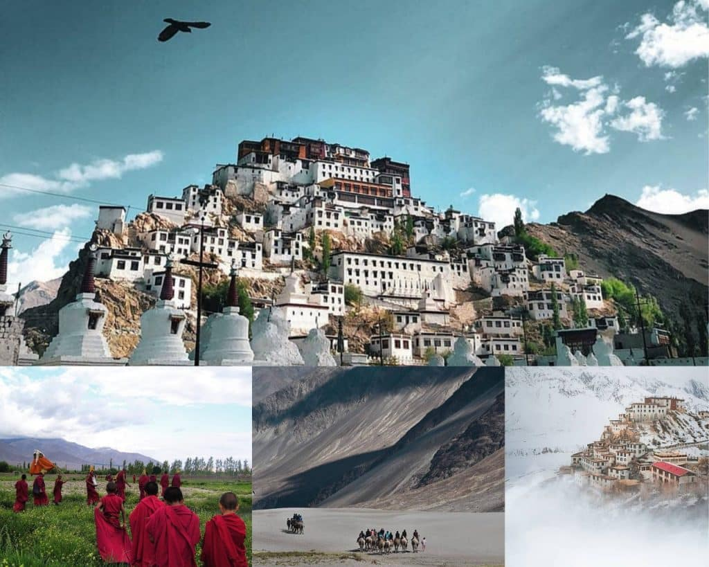 Leh-Ladakh best hill stations in India