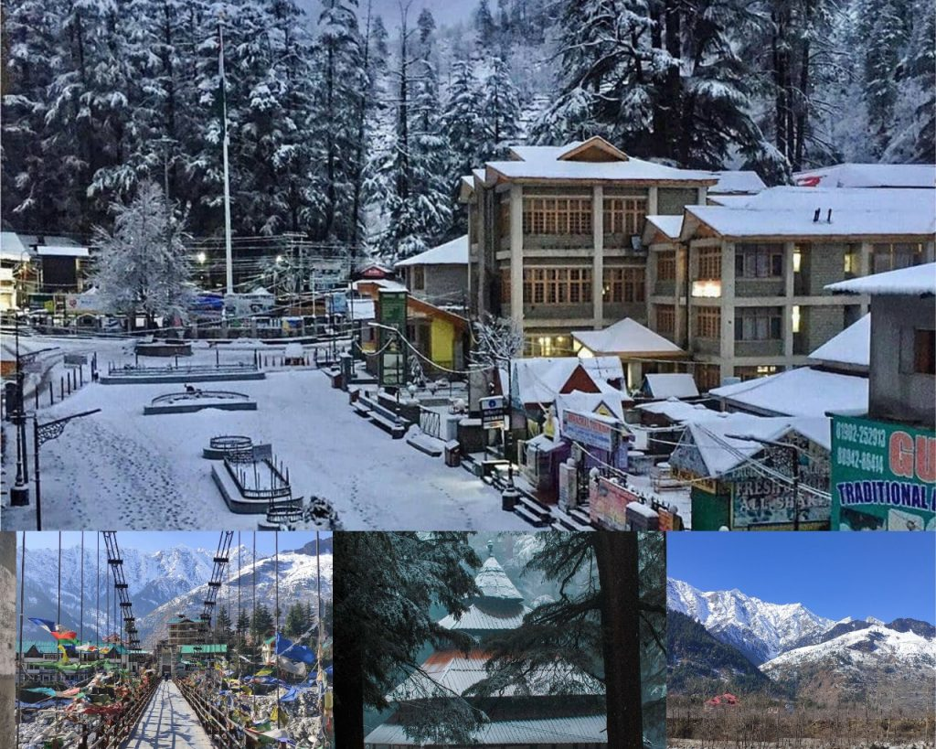 Manali (Himachal Pradesh): best hill stations in India