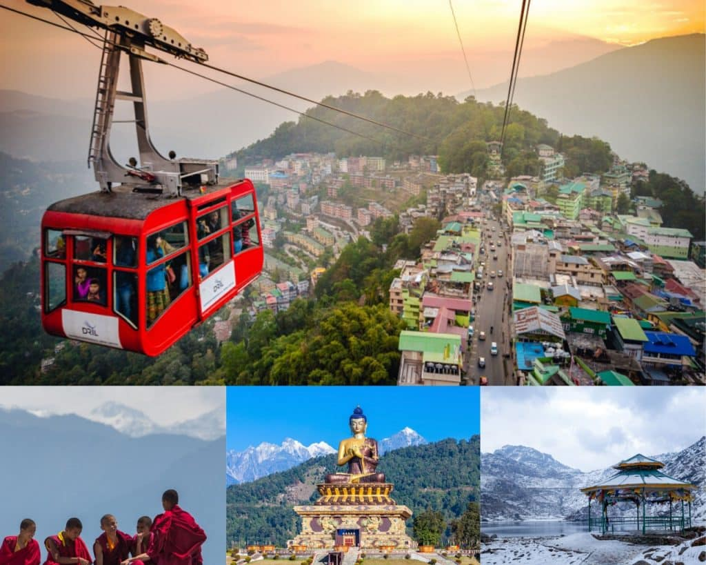 Gangtok- Sikkim is for lovely couples  or newly married honeymoon couples