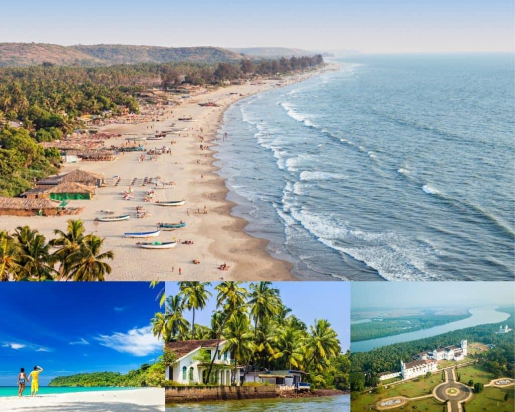 Goa: Best Honeymoon Destinations in India