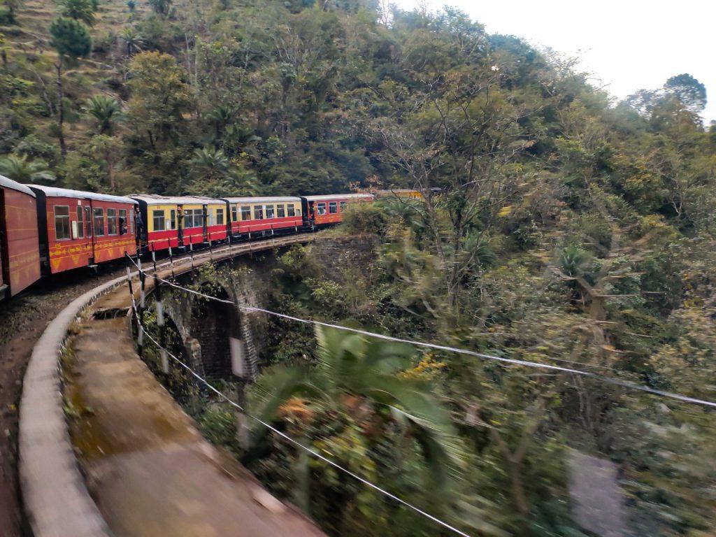 How to reach Shimla Via Train
