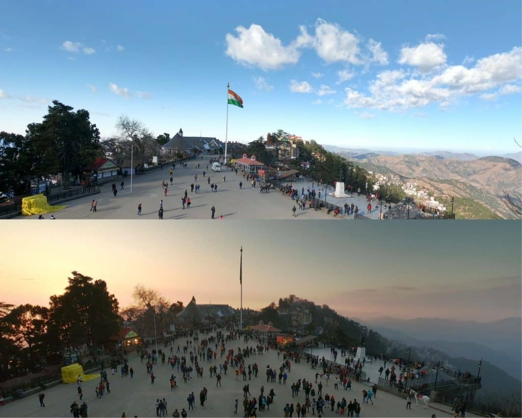 The Ridge  is the best and the most Beautiful Visiting Place in Shimla