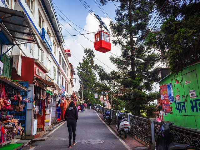 Mall Road- Top Tourist Destination in Mussoorie