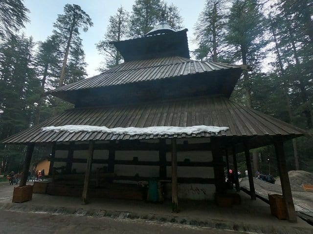 Hadimba Devi Temple- Gulaba- Best places to visit Manali, Himachal Pradesh