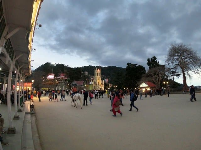 Shimla- The state capital of Himachal Pradesh and Queens of Hills